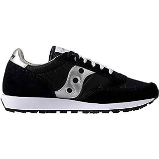Saucony Originals Men's Jazz Sneaker,Black/Silver,9 M
