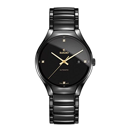 Rado R27056712 True Automatic Mens Watch - Black Dial