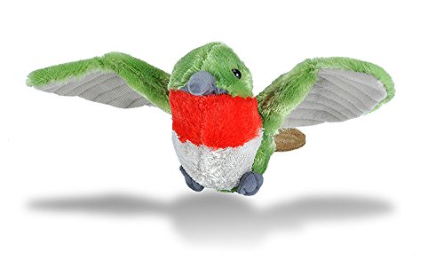 Wild Republic Hummingbird Plush, Stuffed Animal, Plush Toy, Gifts for Kids, Cuddlekins 8 Inches