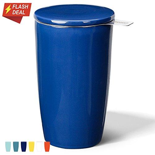 Sweese 2504 Porcelain Tea Infuser Mug - Double-Walled Insula