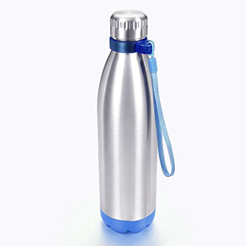 Water Bottle Carrier - Tiny Clip On Ring Design Bottle Handle Holder for Swell, Thermo Tank, MIRA, Ezisoul Ultimate, Simple Modern Water Bottle (fit most cola shaped water bottles with neck) P3