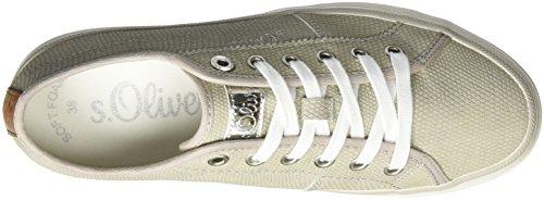 Femme s Grey 210 Gris Rose Sneakers EU Lt Oliver 23640 Basses 36 qw4w16IaZ