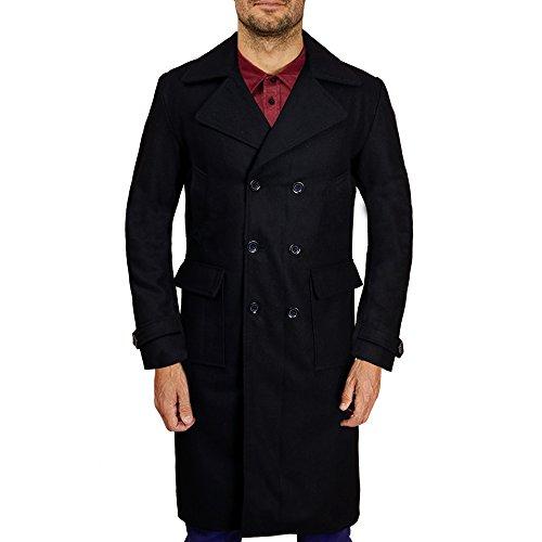 Sherlock Holmes Wool Cape Coat Cosplay Costume (X-Small)