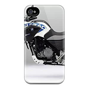 Quality Anne Marie Harrison Case Cover With Bmw G650 Gs Sertao Motorcycles White Nice Appearance Compatible With Iphone 4/4s