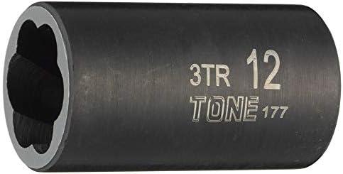 トネ(TONE) トルネードソケット 3TR-15 差込角9.5mm(3/8