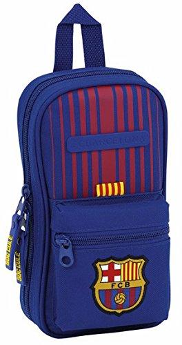 Safta Neceser Con 4 Estuches y útiles F.C. Barcelona 17/18 Oficial 120x50x230mm: Amazon.es: Juguetes y juegos