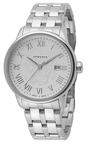 Versace-Mens-VQS040015-Business-Analog-Display-Quartz-Silver-Watch