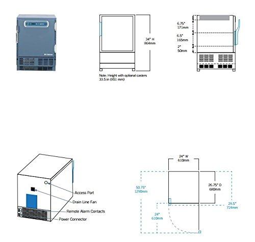 Amazon.com: hlf105 Horizon Series -20 °C/-30 °C laboratorio ...