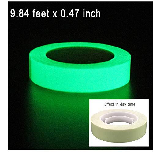 DUOFIRE Luminous Tape Sticker,9.84' Length x 0.47