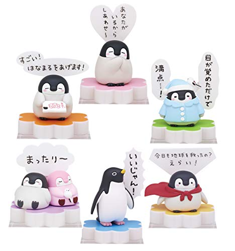 Kitan Club Koupen Chan Speech Balloon Blind Box Includes 1 of 6 Collectible Figurines - Fun, Versatile Decoration - Authentic Japanese - Box Blind