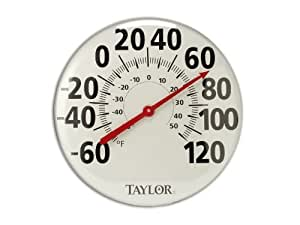 Taylor 681 18-Inch Metal Thermometer Garden, Lawn, Supply, Maintenance
