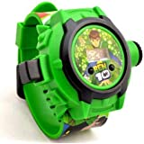 King Seller Ben 10 24 Images Green Projector Kid's Watch