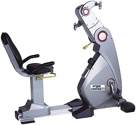 Grupo Contact Ergometro y Bicicleta reclinada Profesional: Amazon ...