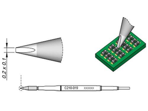 Jbc C210021 - Punta de soldar para cincel T210: Amazon.es: Industria, empresas y ciencia
