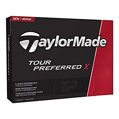 TaylorMade Tour Preferred X Golf Balls