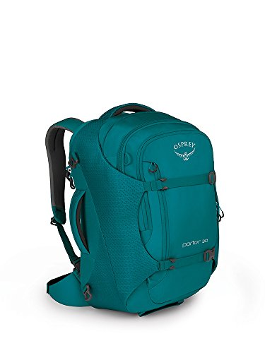 Osprey Packs Porter 30 Travel Backpack, Mineral Teal, One ()