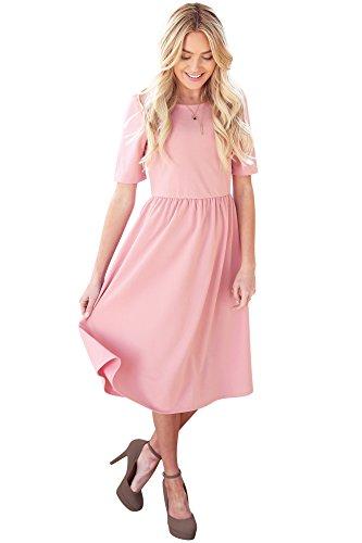 9a1abd4a09a Mikarose  Natalie Modest Dress Modest Bridesmaid Dress
