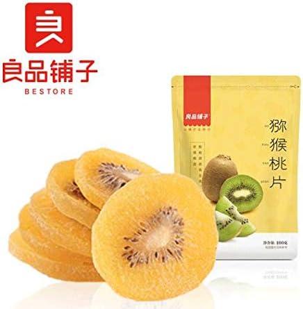 中国名物 おつまみ 大人気 Daben®良品铺子 猕猴桃片 水果干零食 猕猴桃干 果干果脯 奇异果干100g