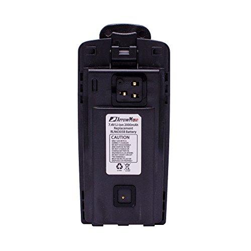 - 4 Pack Maxtop AMCL6305-2000-D RLN6305 RLN6351 Li-ion 2000mah Battery for Motorola CP110 RDX RDU2020 RDV2020 RDU2080D