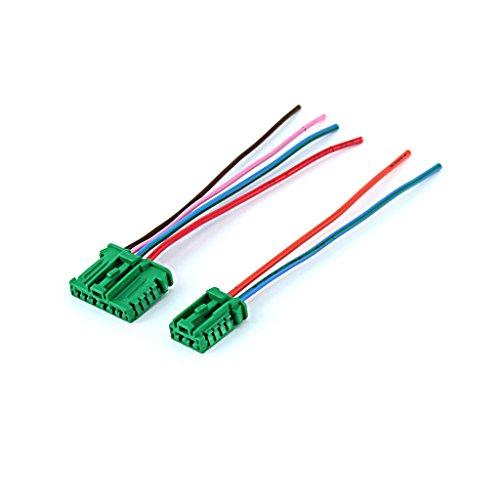 Prise de câblage électrique reparation connecteur pour résistance de chauffage - module de ventilation