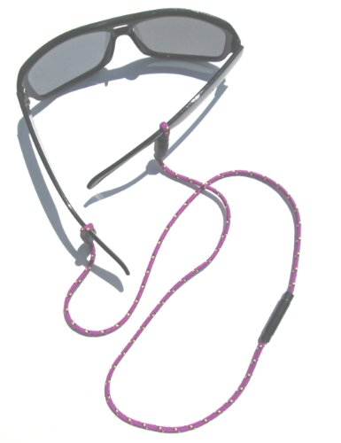 PURPLE EYEGLASS HOLDER - SAFETY RECONNECTABLE - Eyeglasses Breakaway