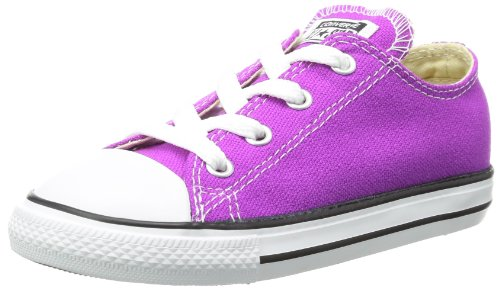 Converse Unisex Chuck Low Fashion-Sneakers,Purple Cactus Flower,8