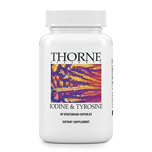 Research Amino Acid (Thorne Research - Iodine & Tyrosine - Mineral and Amino Acid Support for Healthy Thyroid Function - 60 Capsules)
