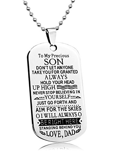 BASIC-HOUSE-Dad-to-Son-Boys-Necklace-Personalized-Custom-Military-Dogtags-Jewelry-Dog-Tag-QA052
