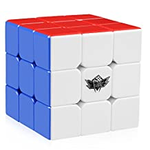 D-FantiX Cyclone Boys Xuanfeng Speed Cube 3x3 Stickerless Smooth Magic Cube Puzzles (57mm)