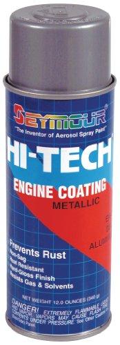 Seymour EN-71 Hi-Tech Engine Spray Paint, Dull Aluminum