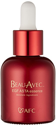 AFC Japan Beau Avec EGF Intensive Face Essence Serum, Nobel Prize Award for Cellular Regeneration, Reduces Wrinkles, Anti-aging, Repair, Replumping, Moisturizes, For Firmer & Youthful Skin, Non-greasy, 1 Oz