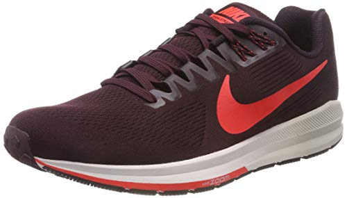 Multicolor Bright Crimson Air Zoom para NIKE Ash de Hombre Entrenamiento Zapatillas Burgundy 21 600 Structure 741fnzqw
