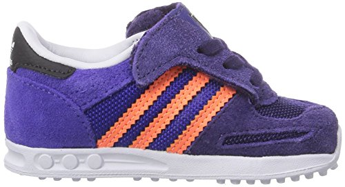 adidas Originals LA Trainer Unisex Baby Shoes for Learning to Walk Purple looking for sale online supply cheap online Vg97T