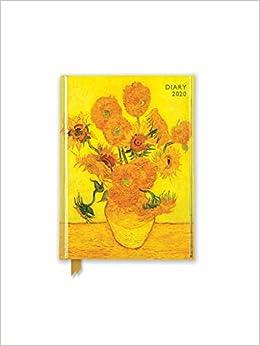Van Gogh - Sunflowers Pocket Diary 2020: Amazon.es: Flame ...