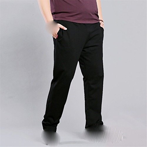 Sueltan Pantalones de de los Pantalones Grasa Sueltan Gris Hombres Ocasionales Pantalones Gran Stazsx los Recta Deportivos Grandes Hombres Los la gordos los tamaño de 5qwxRIC