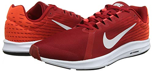 vast Nike Crimson black Ginnastica Multicolore Basse Scarpe 001 bright Da Red 8 Grey gym Downshifter Uomo qvCqA