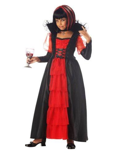 California Costumes Girls Regal Vampira Costume Vampiress (Regal Vampira Girl Costume)