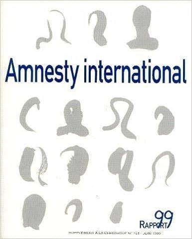 Livre gratuits en ligne AMNESTY INTERNATIONAL : Rapport 1999 epub, pdf