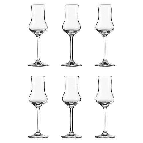 Schott Zwiesel 106225 Grappakelch, Grappa-Glas 'Classico' 9,5cl (6 Stück)