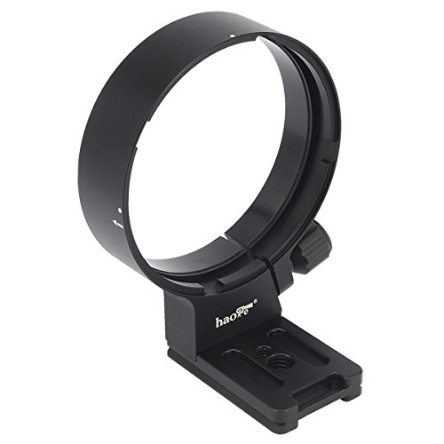 Haoge LMR-N84G Lens Collar Replacement Foot Tripod Mount Ring for Nikon AF-S AFS NIKKOR 80-400mm f/4.5-5.6G ED VR Lens built-in Arca Type Quick Release Plate