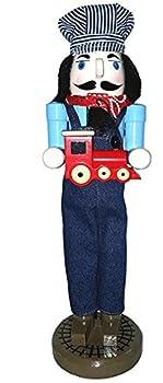 "Santa's Workshop 70880 Train Conductor Nutcracker, 14"" ,,"