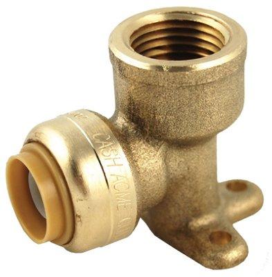 Reliance Worldwide U334LFA 1/2 x 1/2-In. FIP Drop Ear Pipe Elbow - Lead-Free