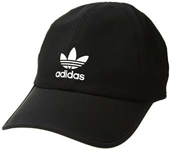 00ddba9d Amazon.com: adidas Women's Originals Trainer II Relaxed Cap, Black ...