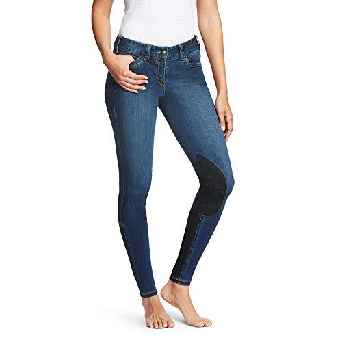 Ariat Breeches (ARIAT Women's Denim Knee Patch Breech Indigo Size 26 Long)