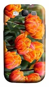 case cute cases orange tulips hd PC case/cover for Samsung Galaxy S3 I9300