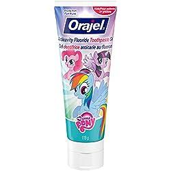 Orajel My Little Pony Anticavity Fluoride Toothpaste, Fruity Fun, 4.2 Oz