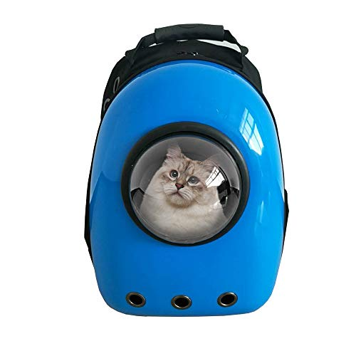 pc09bl pet backpack astronaut capsule