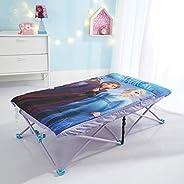 Idea Nuova Disney Frozen 2 Foldable Slumber Cot with Detachable Printed Sleeping Bag Featuring Anna & Elsa