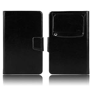 "Negro Funda Carcasa Case Universal con Soporte Cierre Magnetico para Moviles 4,5"" 4,6"" 4,7"" 4,8"" 4,9"" 5,0"" pulgadas para Samsung Galaxy Note 2, HTC One M8 (2014), LG Optimus G Pro F240K / E985T, LG G3 D855, Sony Xperia Z1 / Z2, ASUS ZenFone 5, ARCHOS 50 Helium / Titanium / Oxygen, ACER Liquid Z5 Z150, HTC One M8w, Cubot S208, 5"" Doogee Turbo DG2014 Smartphone, ARCHOS 50 NEON #465"