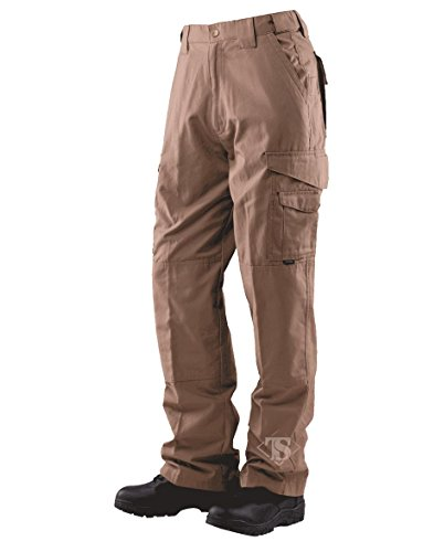 Men's Tactical 65/35 Polyester/Cotton Rip-Stop Pants, Coyote, 38x34 (Ripstop Series)